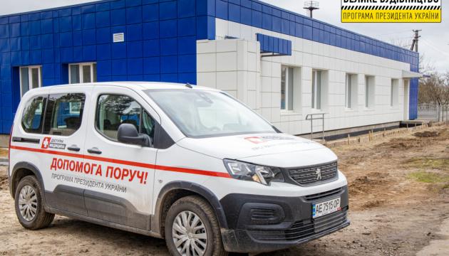 На Дніпропетровщині зводять нову амбулаторію