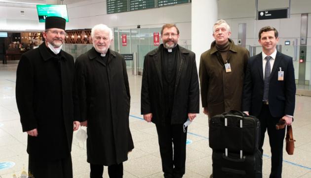 Глава УГКЦ прибув до Мюнхена для інтронізації душпастиря у Німеччині та Скандинавії