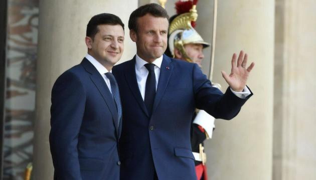 Во время встречи Зеленского и Макрона не звучало неприемлемых для Украины предложений - Ермак