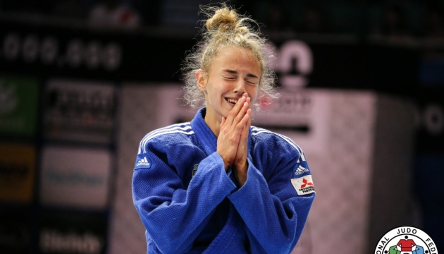 Дар'я Білодід виграла «срібло» чемпіонату Європи з дзюдо у Португалії