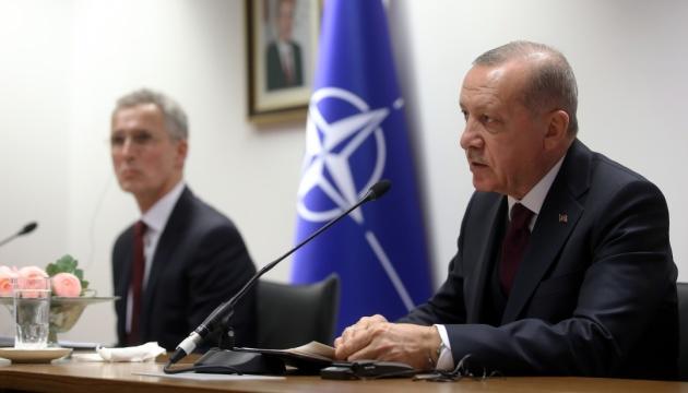 Эрдоган и Столтенберг обсудили ситуацию вокруг Украины