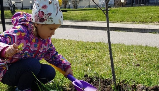 Українці в Сербії та Болгарії заради озеленення планети висадили дерева та кущі