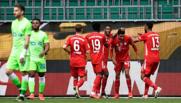 «Бавария» победила «Вольфсбург» и укрепила лидерство в Бундеслиге