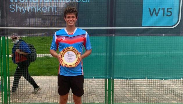 Украинец Ваншельбойм выиграл турнир ITF в Шымкенте