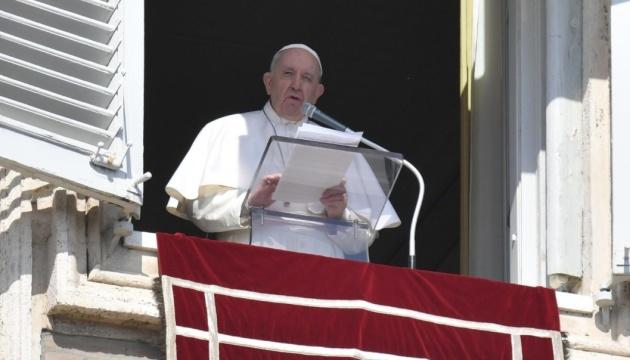 Papst Franziskus ruft zur Deeskalation in der Ostukraine auf