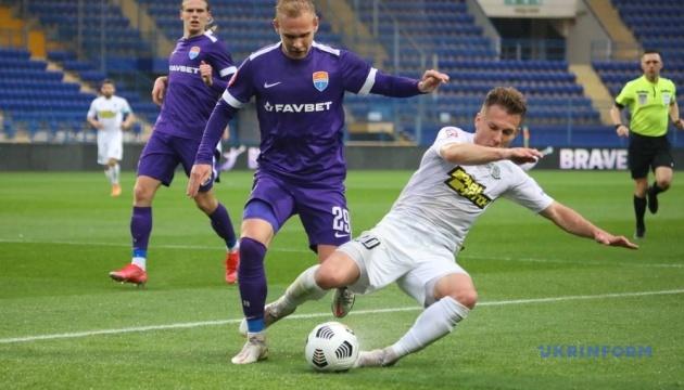 «Олімпік» перервав 8-матчеву серію поразок у чемпіонаті України з футболу