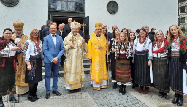 Глава УГКЦ інтронізував душпастиря в Німеччині та Скандинавії