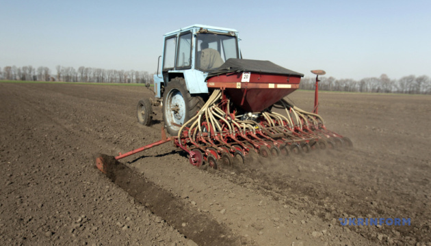 Ukrainian farmers already sown 20% of projected area with spring grain crops