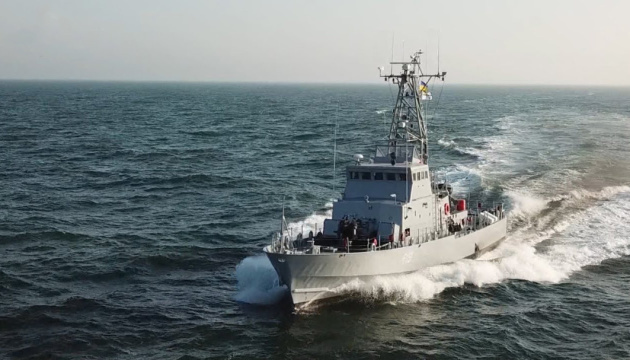 Ukrainian, Romanian ships hold exercises in Black Sea
