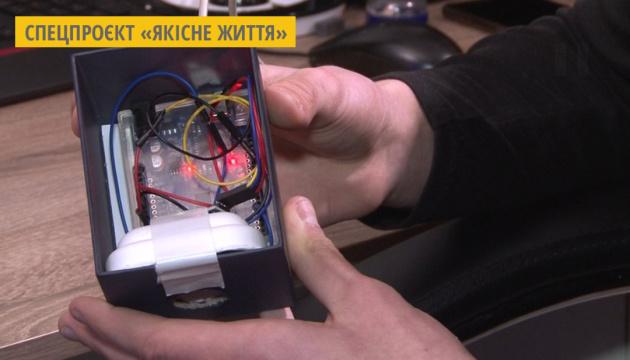 Полтавський школяр розробив пристрій, що вимірює рівень забруднення повітря