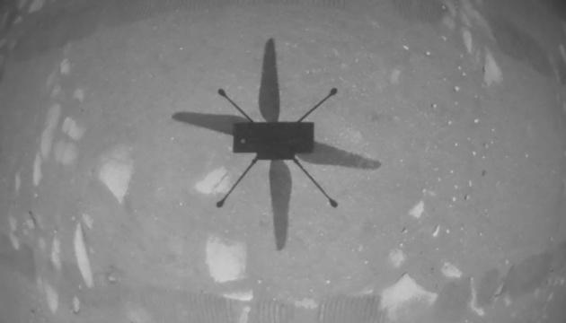 NASA впервые запустила вертолет на Марсе