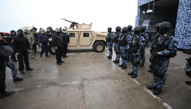 Авакову показали, как будет действовать КОРД в случае высадки вражеского десанта