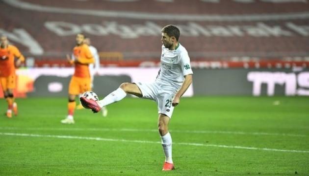 Кравець відзначився голом за «Коньяспор» в матчі проти «Різеспора» Морозюка