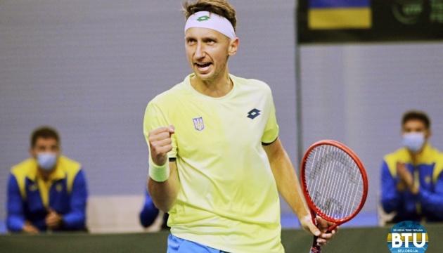 Стаховский победил на старте турнира ATP Challenger Tour в Риме