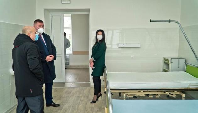 На Полтавщині відремонтували приймальне відділення лікарні - фото