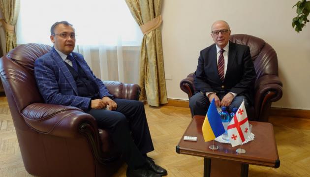 Посол Грузії після майже річної перерви повернувся в Україну
