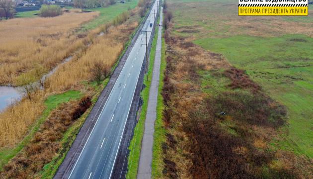 На Дніпропетровщині завершився ремонт об'їзної дороги селища Кринички