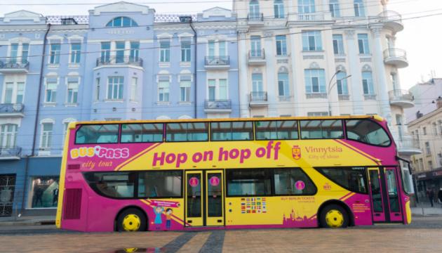 В Виннице разработали экскурсионные туры на двухэтажном автобусе-кабриолете