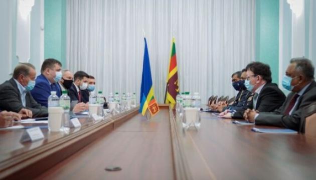 Укроборонпром зміцнює військово-технічне партнерство зі Шрі-Ланкою