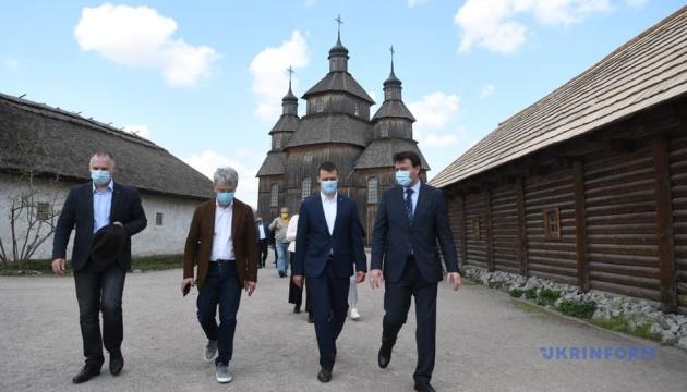 Хортиця має стати окрасою «Великої реставрації» - Ткаченко