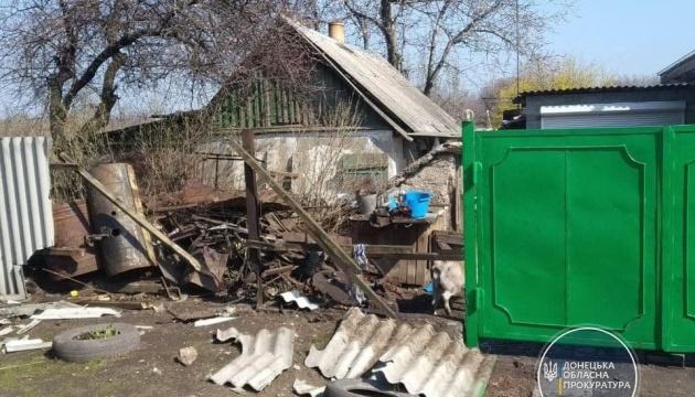 Окупанти обстріляли селище Північне на Донеччині - влучили в будинок із людьми