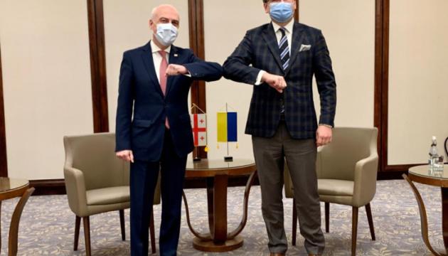 Kuleba: Mitgliedschaft der Ukraine und Georgiens in der EU und der NATO eine Frage der Zeit