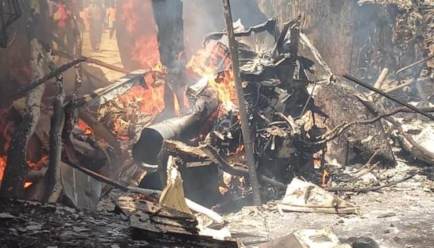 В Зимбабве разбился военный вертолет, есть погибшие