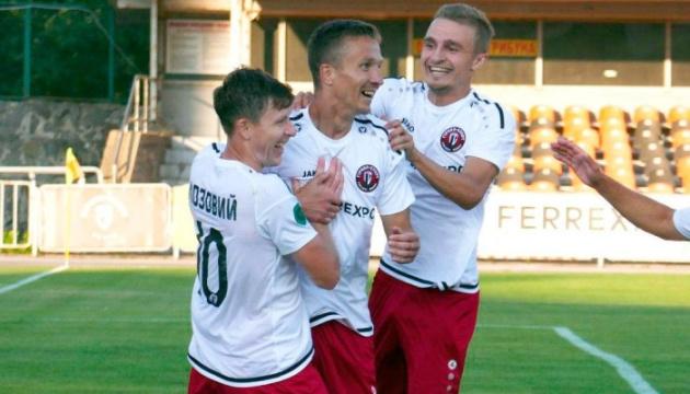Футбол: «Гірник-Спорт» розгромив «Кристал» у матчі Першої ліги