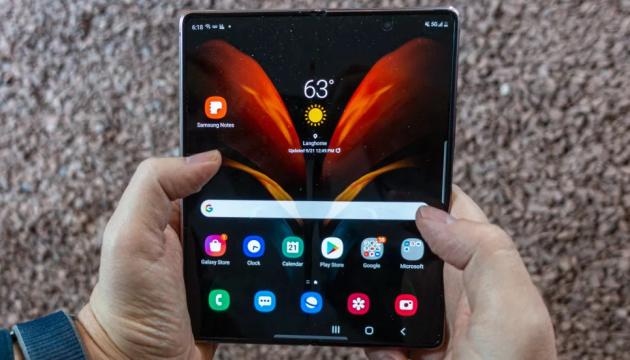 Samsung розробляє перший у світі складаний планшет