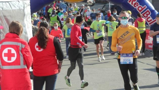 У столиці проходить міжнародний марафон