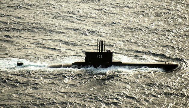 Затонула індонезійська субмарина розкололась на кілька частин