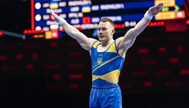 Українець Ігор Радівілов виграв «золото» на ЧЄ зі спортивної гімнастики