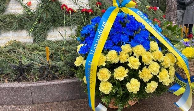 Ukrainian parliament leaders honor victims of Chornobyl disaster