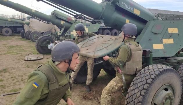 Артиллеристы тренировались защищать побережье Черного моря