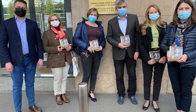 Український генконсул зустрівся з представниками асоціації «Україна Плюс – Мілан»