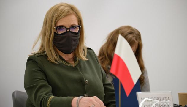 Rosja nie odważy się kontynuować agresji na Ukrainie, jeśli Stany Zjednoczone i Europa zareagują zdecydowanie – Gosiewska