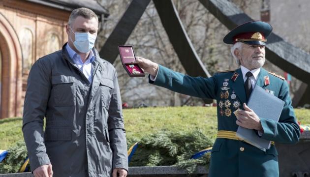 Кличко вшанував пам'ять героїв-ліквідаторів аварії на ЧАЕС