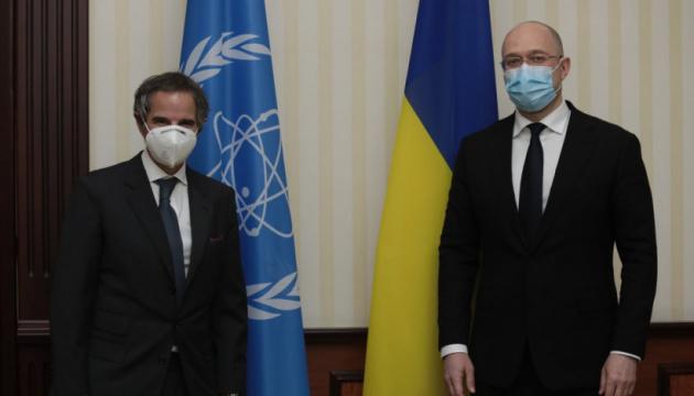 Шмыгаль встретился с гендиректором МАГАТЭ - говорили о «зеленой» энергетике и ЧАЭС
