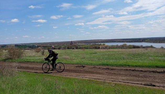 На Николаевщине создают новый веломаршрут вдоль реки Ингул