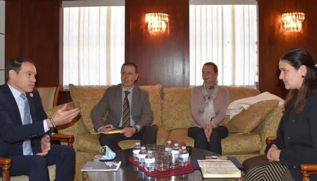 Markarova meets with representatives of Ukrainian diaspora in U.S.