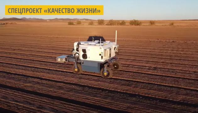 В США разработали робота, который лазером удаляет сорняки