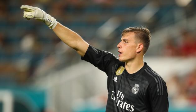 Украинский голкипер Лунин может перейти из «Реала» в «Милан»