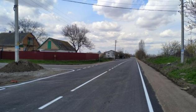 На Київщині відремонтували дорогу Глибоке - Городище