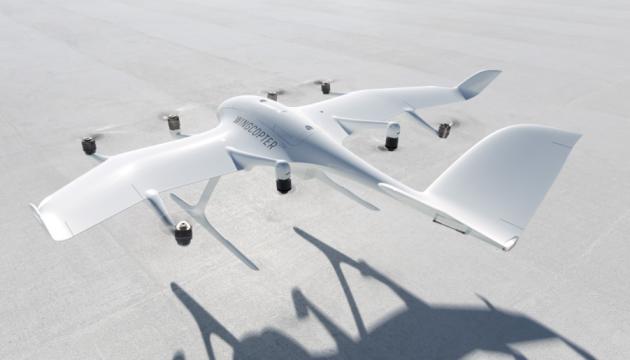 У Німеччині розробили дрон, який одночасно може перевозити три пакунки