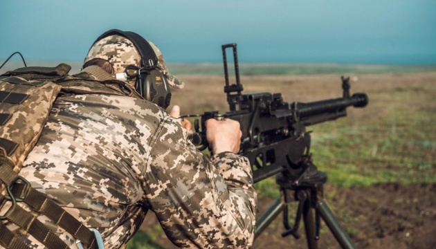 Стрельбы и скрытое передвижение - учения пограничников на Донетчине