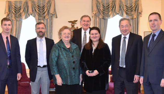 Markarova meets with representatives of Friends of Ukraine Network, U.S.-Ukraine Foundation