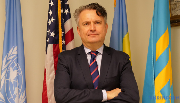 Kyslytsya: Any UN project in Ukraine exceeds our annual contribution