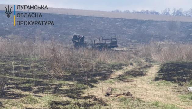 Прокуратура розслідує підрив авто ЗСУ на Луганщині як теракт