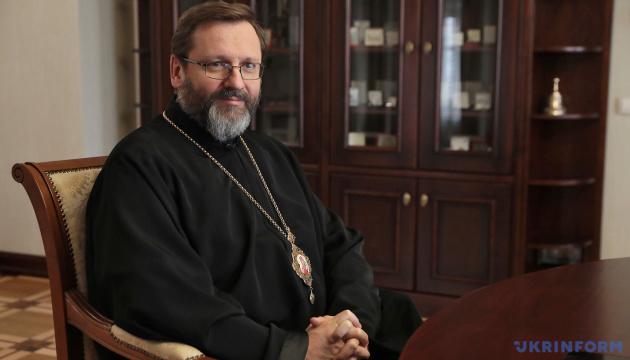 Le chef de l'Église gréco-catholique d'Ukraine remercie le Pape François pour son appel à la paix