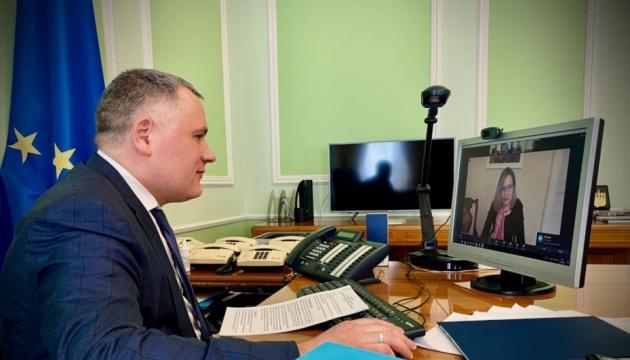 Жовква обговорив ескалацію РФ з представницею відомства канцлера Австрії